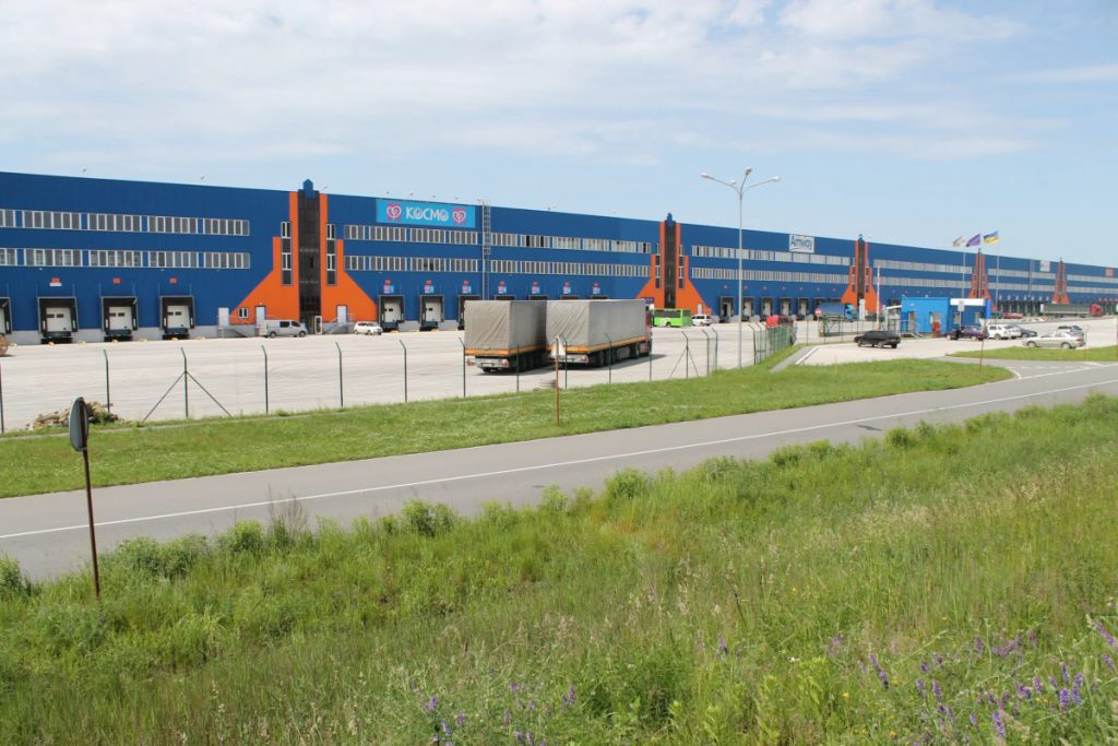 """THE WAREHOUSE COMPLEX """"TERMINAL"""" (BROVARY)"""