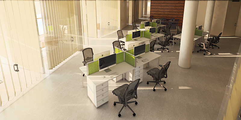 OFFICE SPACE-PLANNING AND PREPARATORY WORK